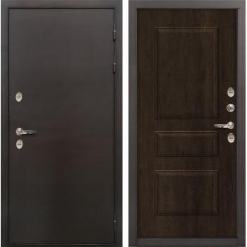 Входная дверь с терморазрывом Лекс Термо Сибирь 3К Винорит Алмон 28 (панель №60)