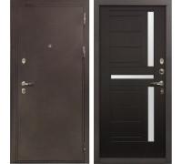 Входная металлическая дверь Лекс 5А Цезарь Венге (панель №35)