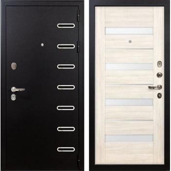 Входная металлическая дверь Лекс Витязь Сицилио Белёный дуб (панель №46)