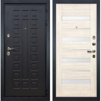 Входная металлическая дверь Лекс Гладиатор 3К Сицилио Дуб беленый (панель №46)
