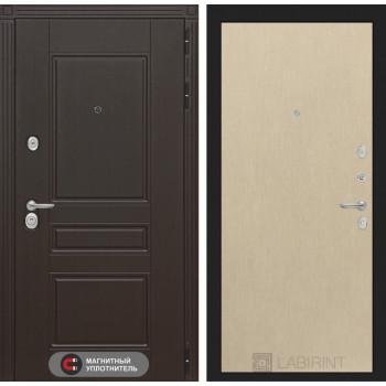 Входная дверь Labirint Мегаполис 05 - Венге светлый