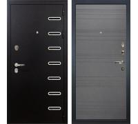 Входная металлическая дверь Лекс Витязь Графит софт (панель №70)