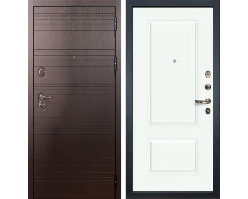Входная металлическая дверь Лекс Легион Вероника-1 Эмаль Белая (панель №55)