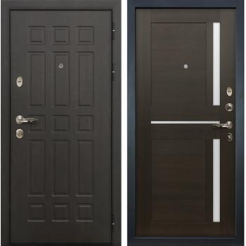 Входная металлическая дверь Лекс 8 Сенатор Баджио Венге (панель №50)