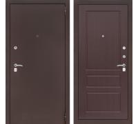 Входная дверь CLASSIC антик медный 03 Орех премиум