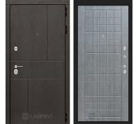 Входная дверь Labirint URBAN 09 Лен сильвер