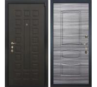 Входная металлическая дверь Лекс 4А Неаполь Mottura Сандал серый (панель №69)