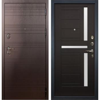Входная металлическая дверь Лекс Легион Венге (панель №35)