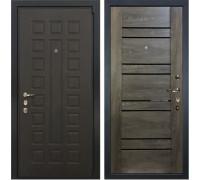 Входная металлическая дверь Лекс 4А Неаполь Mottura Терра Графит Шале (панель №64)