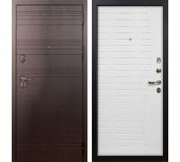 Входная металлическая дверь Лекс Легион Ясень белый (панель №36)