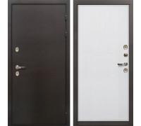 Входная металлическая дверь с терморазрывом Лекс Термо Сибирь 3К Ясень белый (панель №62)