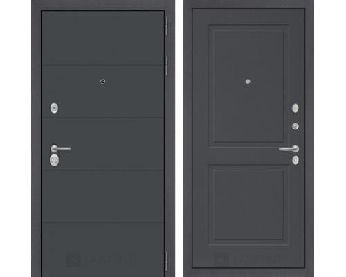 Двери Лабиринт входная дверь Labirint ART графит 11 Графит софт