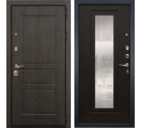 Входная стальная дверь Лекс Сенатор Винорит с Зеркалом Венге (панель №22)