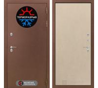 Входная дверь с терморазрывом Labirint Термо Магнит 05 Венге светлый