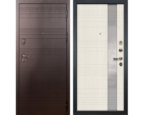 Входная металлическая дверь Лекс Легион Новита Белёный дуб (панель №52)
