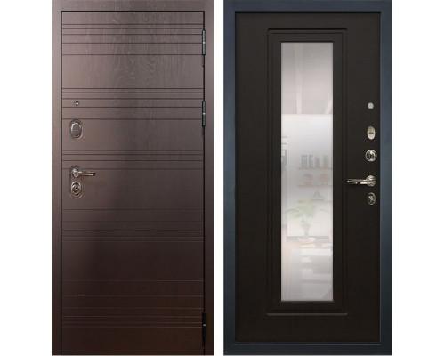 Входная металлическая дверь Лекс Легион с Зеркалом Венге (панель №22)