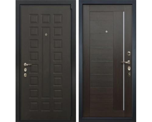 Входная металлическая дверь Лекс 4А Неаполь Mottura Верджиния Венге (панель №39)
