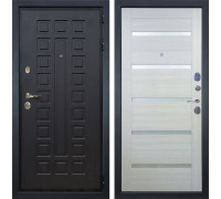 Входная металлическая дверь Лекс Гладиатор 3К Клеопатра-2 Дуб беленый (панель №58)