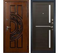 Входная металлическая дверь Лекс Спартак Cisa Баджио Венге (панель №50)