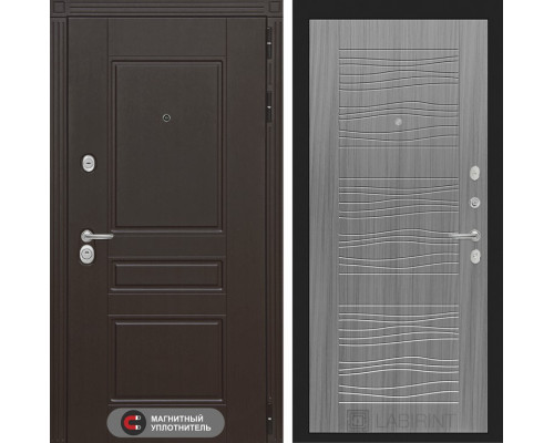 Входная дверь Labirint Мегаполис 06 - Сандал серый