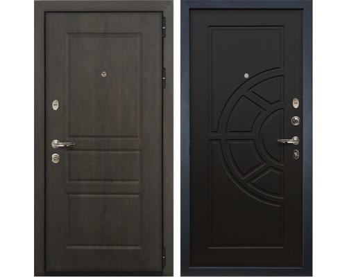 Входная стальная дверь Лекс Сенатор Винорит Венге (панель №43)