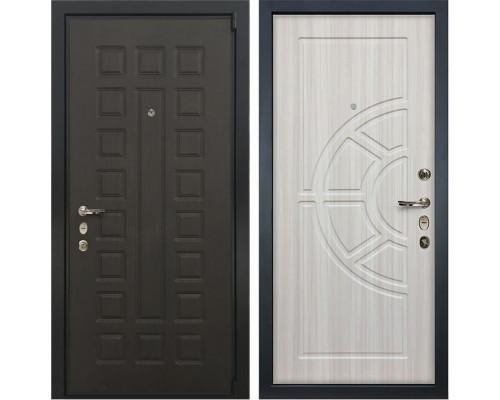 Входная металлическая дверь Лекс 4А Неаполь Mottura Сандал белый (панель №44)