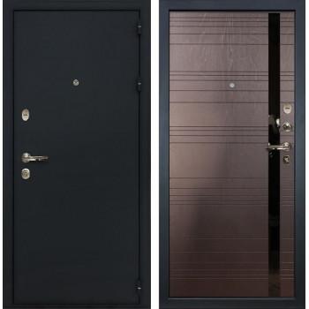 Входная металлическая дверь Лекс 2 Рим Ясень шоколад (панель №31)
