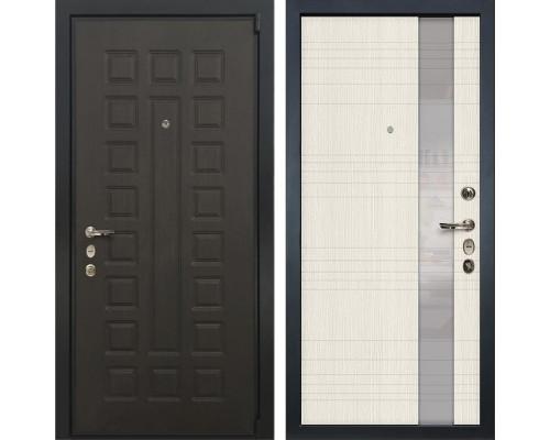 Входная металлическая дверь Лекс 4А Неаполь Mottura Новита Беленый дуб (панель №52)