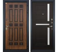 Входная металлическая дверь Лекс Гладиатор 3К Винорит Венге (панель №35)