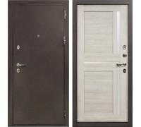 Входная металлическая дверь Лекс 5А Цезарь Баджио Ясень кремовый (панель №49)