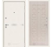 Входная дверь Labirint Лайн WHITE 04 Беленый дуб