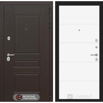 Входная дверь Labirint Мегаполис 13 - Белый софт