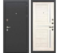 Входная металлическая дверь Лекс Колизей Баджио Дуб беленый (панель №47)