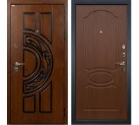 Входная металлическая дверь Лекс Спартак Cisa Берёза мореная (панель №12)