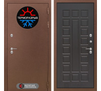 Входная дверь с терморазрывом Labirint Термо Магнит 04 Венге