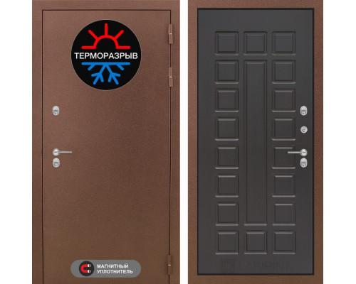 Входная дверь с терморазрывом Labirint Термо Магнит 04 Венге (двери с терморазрывом)