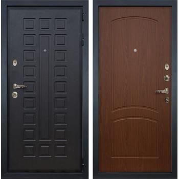 Входная металлическая дверь Лекс Гладиатор 3К Береза мореная (панель №11)