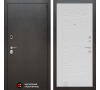 Входная дверь Labirint SILVER 06 - Белое дерево