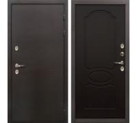 Входная металлическая дверь с терморазрывом Лекс Термо Сибирь 3К Венге (панель №13)