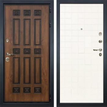 Входная металлическая дверь Лекс Гладиатор 3К Винорит Ясень белый (панель №67)