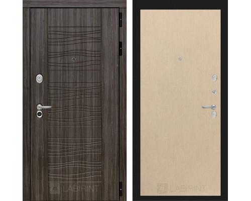 Входная дверь Labirint SCANDI Дарк грей 05 - Венге светлый