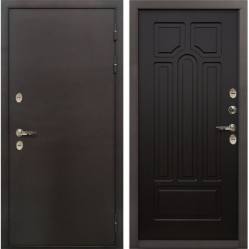 Входная металлическая дверь с терморазрывом Лекс Термо Сибирь 3К Венге (панель №32)