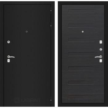 Входная дверь Labirint CLASSIC шагрень черная 14 - Эковенге