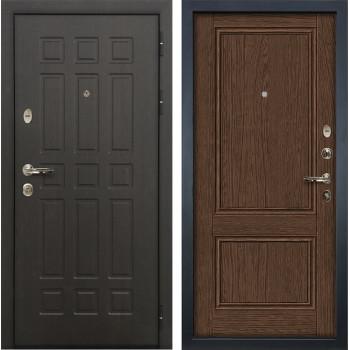 Входная металлическая дверь Лекс 8 Сенатор Орех (панель №57)