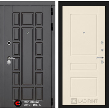 Входная дверь Labirint Нью-Йорк 03 Крем софт