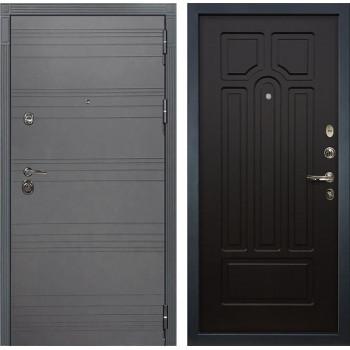 Входная металлическая дверь Лекс Сенатор 3К Софт графит (№32 Венге)