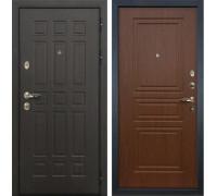 Входная металлическая дверь Лекс 8 Сенатор Береза мореная (панель №19)