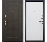 Входная стальная дверь Лекс Сенатор Винорит Ясень белый (панель №62)