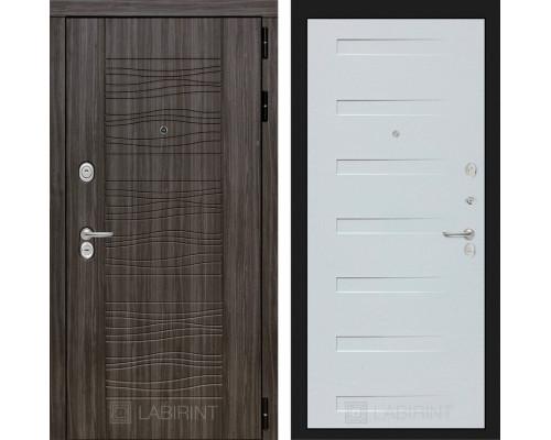 Входная дверь Labirint SCANDI 14 - Дуб кантри белый горизонтальный