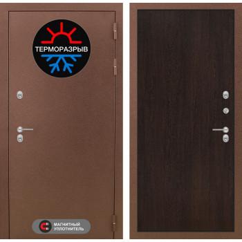Входная дверь с терморазрывом Labirint Термо Магнит 05 Венге